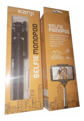 palo para selfie monopod kanji con bluetooth calidad full
