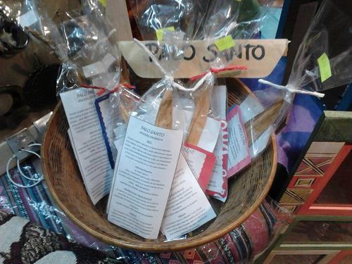 palo santo de perú sahumerio incienso bolsita sahumerios