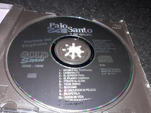 palo santo ysu grupo noches del tropicana  discos mastereo