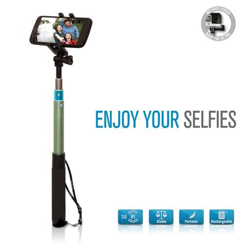 palo selfie stick monopod bluethoot en el mango tagwood