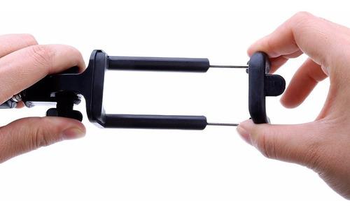 palo selfies stick g53 monopie extensible cable celulares