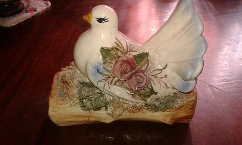paloma de ceramica
