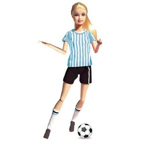 Paloma Original Muñeca Futbolista Pelota Con 6836 v80nwmN