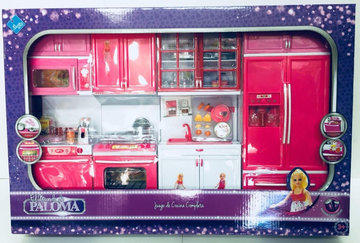 Paloma Juego De Cocina Completa Con Luces Y Sonidos Bigshop - Jue4gos-de-cocina
