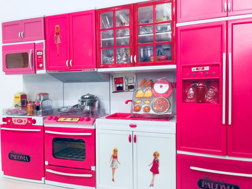 paloma juego de cocina completa con luces y sonidos bigshop