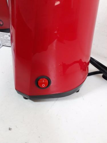 palomera maquina de palomitas light sin aceite 2oz nostalgia