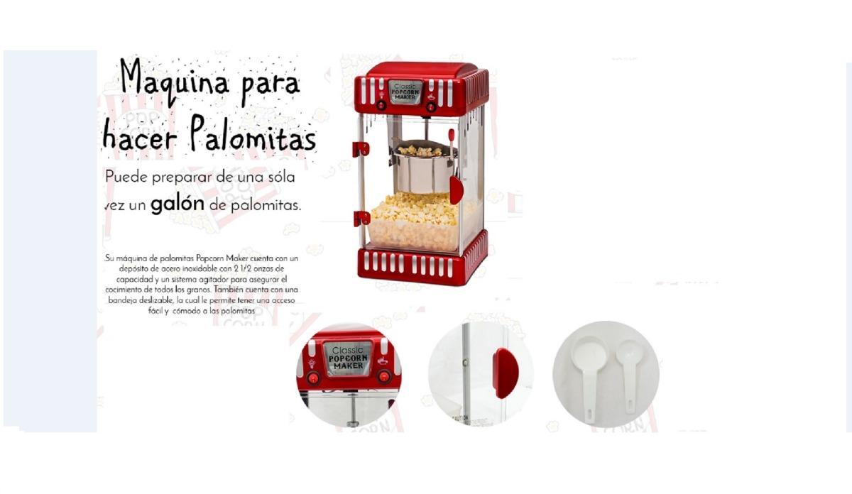Máquina Para Hacer Palomitas Palomas Cocina Classic Maker ...