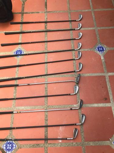 palos de golf marca blitz de grafito maderas ping de acero
