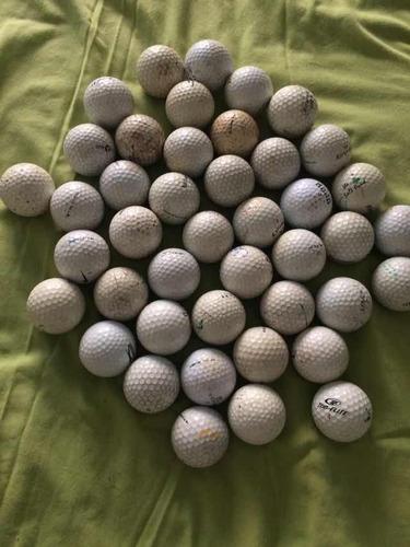 palos de golf variados