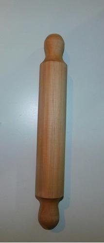 palote de madera maciza para amasar 38 cm.