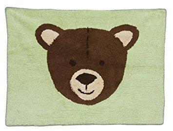 pam gracia creaciones de tapetes, oso del bebé