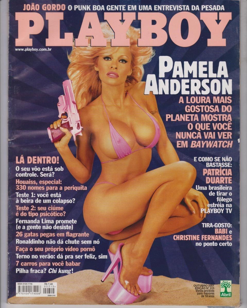 Pamela Anderson Na Revista Playboy N° 224639 - Jfsc - R$ 18,00 em ...