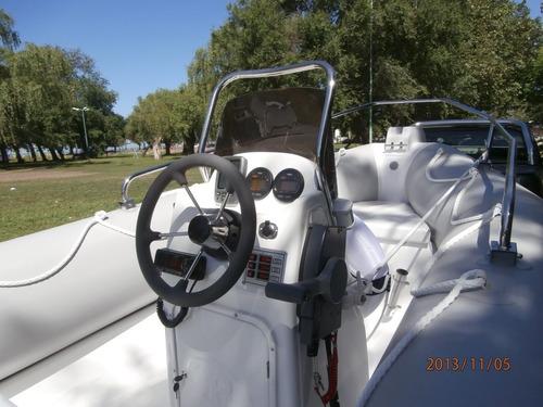 pampa 48 con mercury 50 hp 4 tiempos equipazo