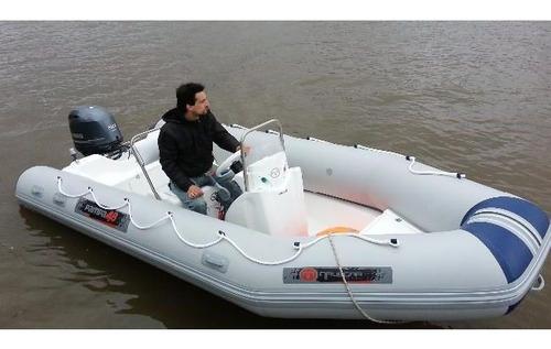 pampa el mejor semi  4,9 mts  con mercury  40 hp  4 tiempos
