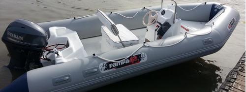 pampa semi  4,9 mts  con mercury  50 hp  4 tiempos ecologico