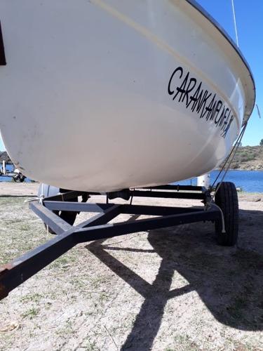 pampero 2015 + motor de embarcadero + trailer rutero