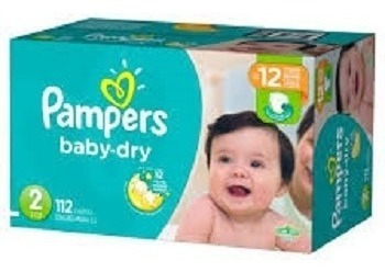 pampers diapers baby dry newborn disposable size 1 2 3 4 - x