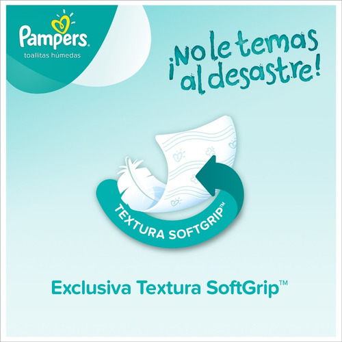 pampers sensitive toallitas húmedas x 56 unidades