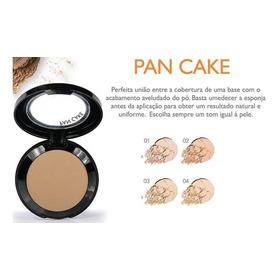 Pan Cake Koloss - Make 3 Em 1 - Base Pó Corretivo Emb Nova