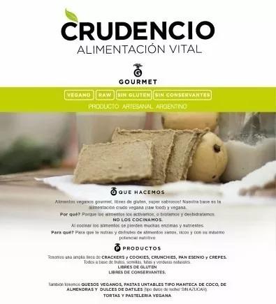 pan de granos germinados, sarraceno, crudencio 12 pack