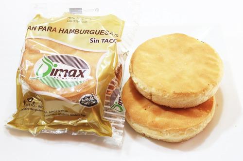 pan de hamburguesas dimax sin tacc