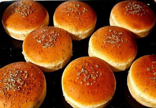 pan especial redondo para hamburguesas maxi premium
