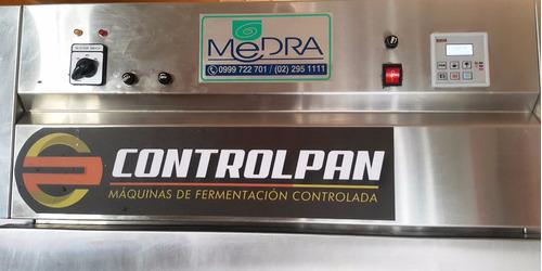 pan panaderías cámaras climática de fermentación controlada
