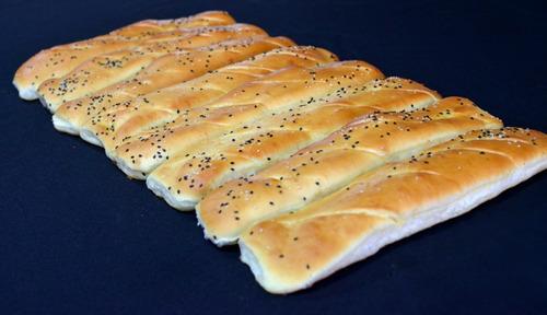 pan para milanesa / lomito premiun de 28cm de largo