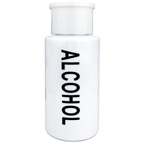 pana 7 oz blanco botella dispensadora de líquido con etique