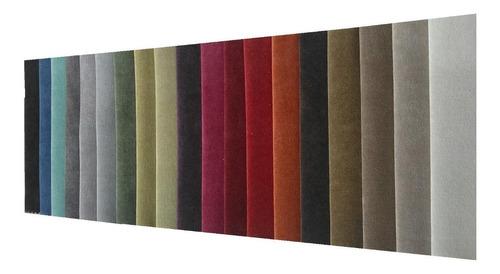 pana terciopelo tela gamuzada para tapicería, almohadón