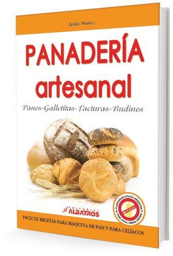 panaderia artesanal incluye recetas para maquina de pan y ce