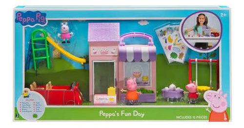 panadería, juegos y carro de peppa pig original usa casa