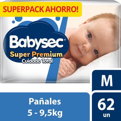 pañal babysec super premium m x62