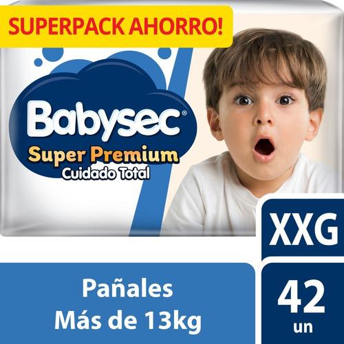 pañal babysec super premium xxg x42