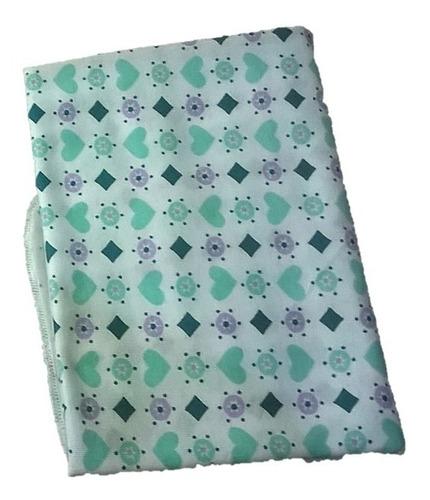 pañal de tela de bebe media docena (algodon) 75x50cm