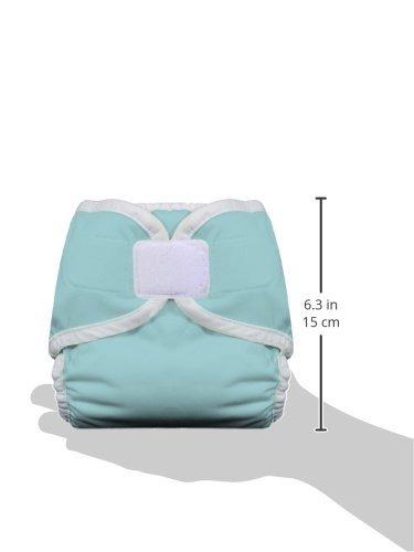 pañal de tela thirsties - gancho y lazo - aqua - x-small