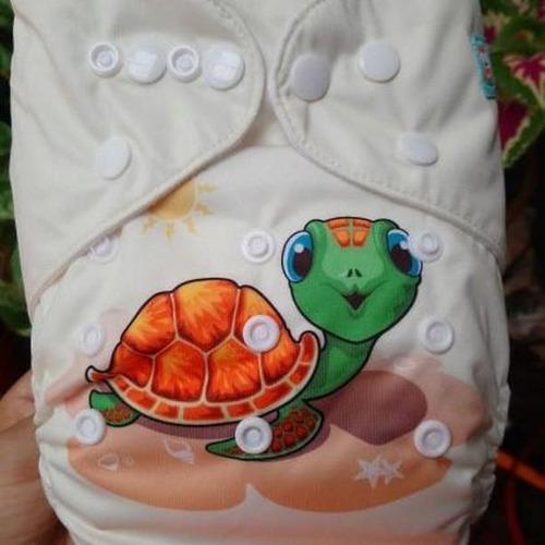 pañal ecológico alva baby niños +absorbente en microfibra
