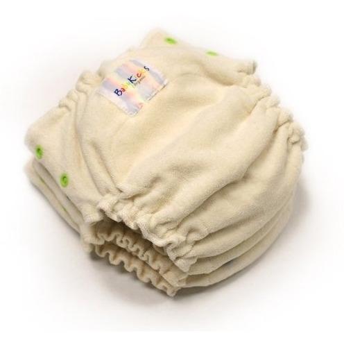 pañal ecológico babykicks, talla única, natural
