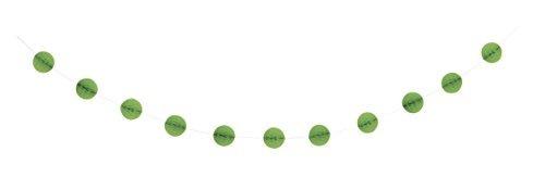 panal guirnalda verde lima verde lima