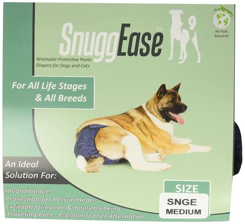 pañal integrated pet solutions de mascota azul medium