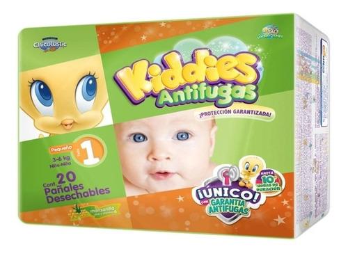 panal kiddies antifugas recien nacido c/20