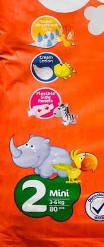 pañal p/bebe desechable paquete jumbo talla s