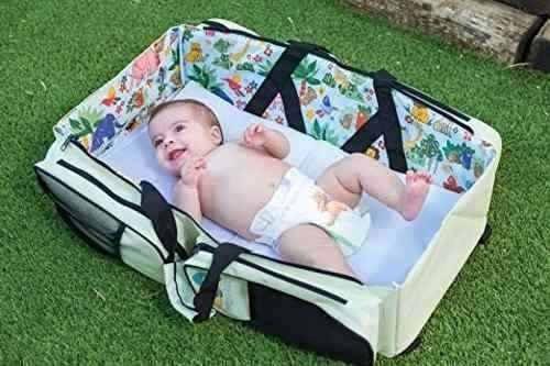 pañalera 3-1 mochila, estacion de cambio bebe lullypop