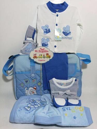 pañalera c/ajuar de niño -baby shower surprise for baby