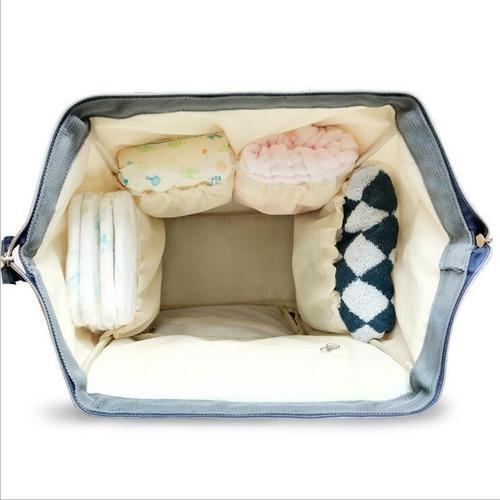 pañalera mochila  land original con 3 accesorios regalo