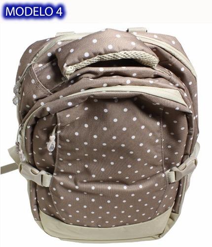 pañalera multiusos mochila backpack alta capacidad + regalo