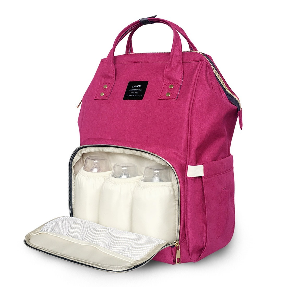 3aebb7a313 Pañaleras mochila bolsas para bebes pañales land mama cargando zoom jpg  1100x1100 Bolsas para bebe
