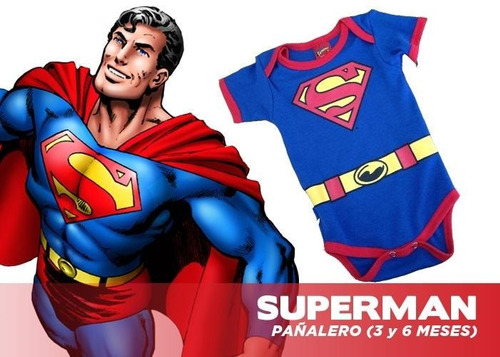pañalero batman y superman dc comics original c/u