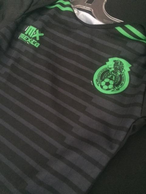 Pañalero Bebe Seleccion Mexicana Mexico Jersey Playera Negra ... ec7b7ac3e8527