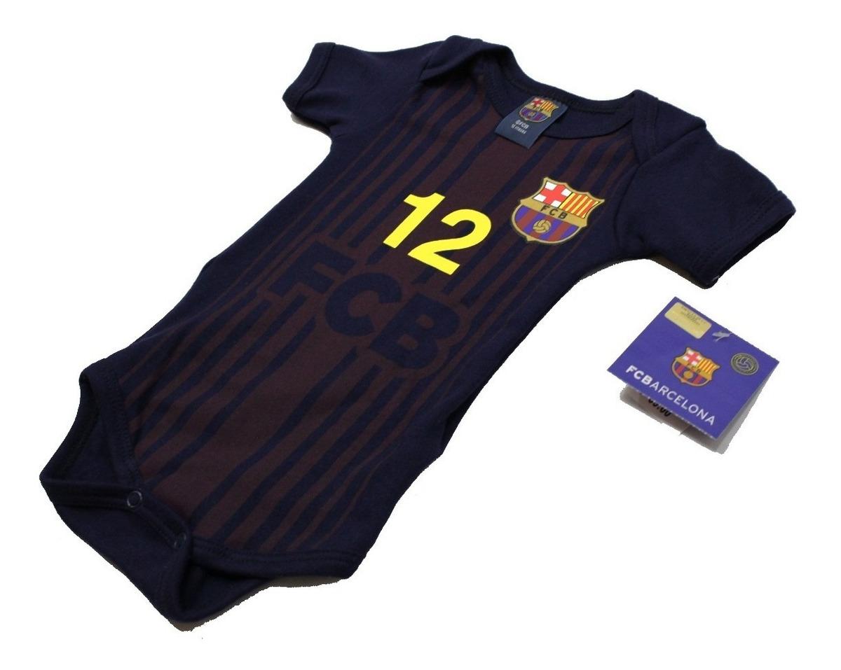 Pijama Beb/é Terciopelo FC Barcelona Oficial 2017-2018